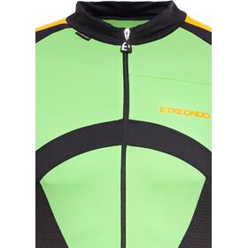 Etxeondo Oin Lyhythihainen Jersey Miehet, green/orange